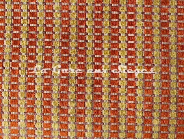 Tissu Casal - Dompteur - réf: 16188 - Coloris: 4226 Colza Cuivre - Voir en grand