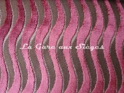 Tissu Casal - Velours Marcello - Réf: 12644 Coloris: 90 Violine - Voir en grand