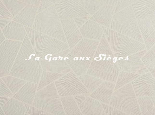 Tissu Pierre Frey - Eventail - réf: F3102.001 Meringue - Voir en grand