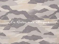 Tissu Lelièvre - Calanques - réf: 4238.01 Brume - Voir en grand