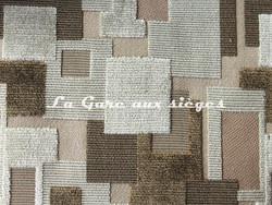 Tissu Pierre Frey - Métropolis - réf: F2850-001 - Coloris: Beige - Voir en grand