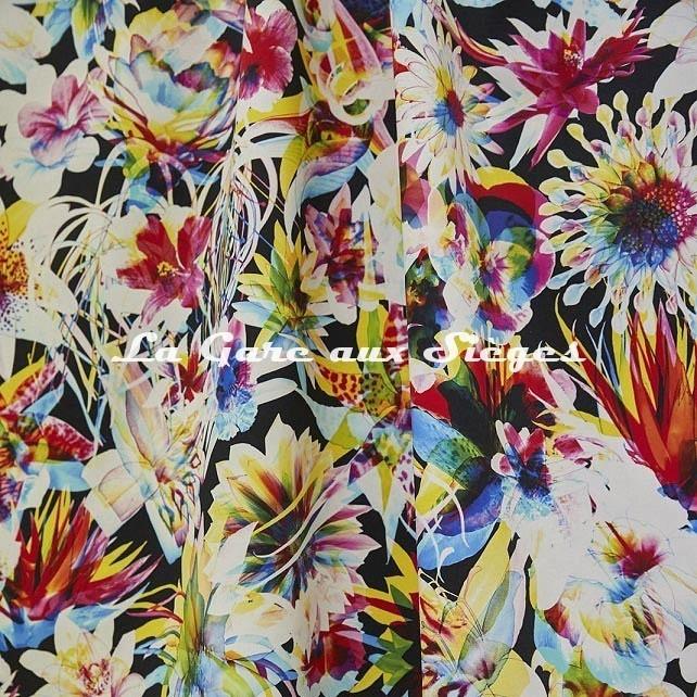 Tissu Jean Paul Gaultier - Hawaï - réf: 3496.01 Multico - Voir en grand