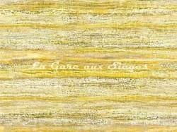 Tissu Casamance - Sédiment - réf: 3781.0332 - Moutarde - Voir en grand
