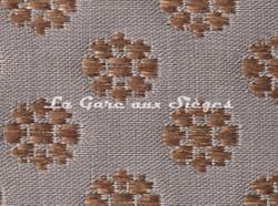 Tissu Le Crin - Christiane 232 - réf: C0232 - Coloris: 105 Gris/Bois de rose - Voir en grand