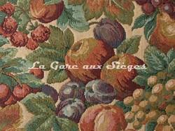 Tissu Chanée Ducrocq - Gascogne - réf: 6489 Crème - Voir en grand