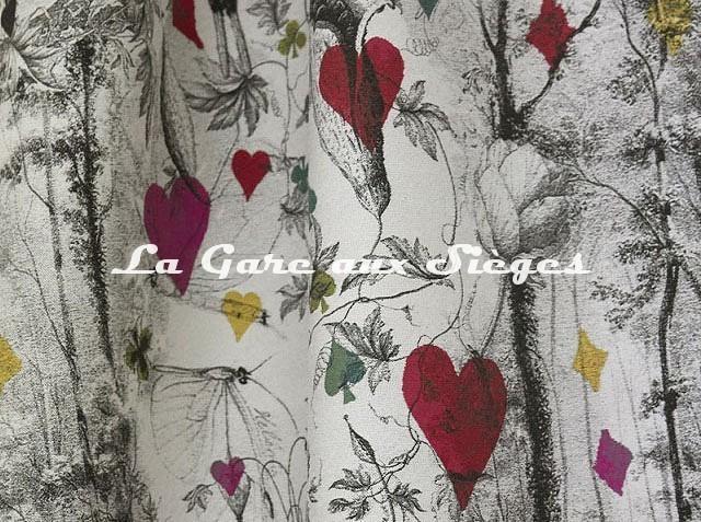 Tissu Jean Paul Gaultier - Tarot - réf: 3489.01 ( détail ) - Voir en grand