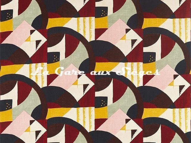 Tissu Zoffany - Abstract 1928 - réf: 322670 Multi - Voir en grand