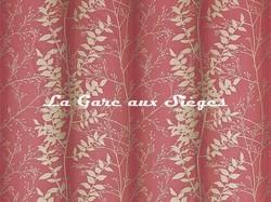 Tissu Harlequin - Persephone - réf: 130252 Flame/Pebble - Voir en grand