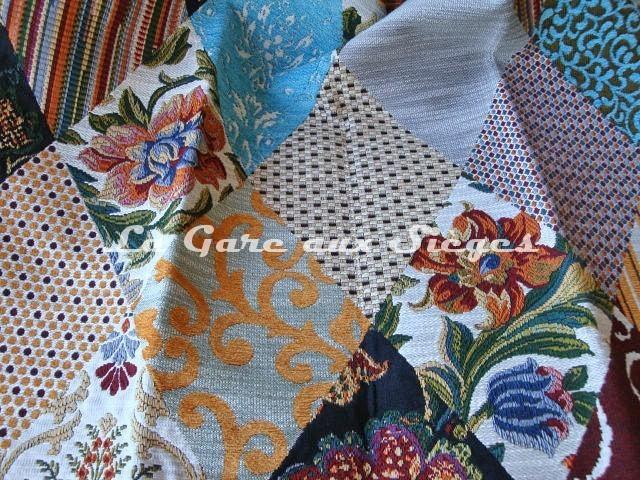 Tissu Casal - Ruy Blas - réf: 16171-001 Multicolore - Voir en grand