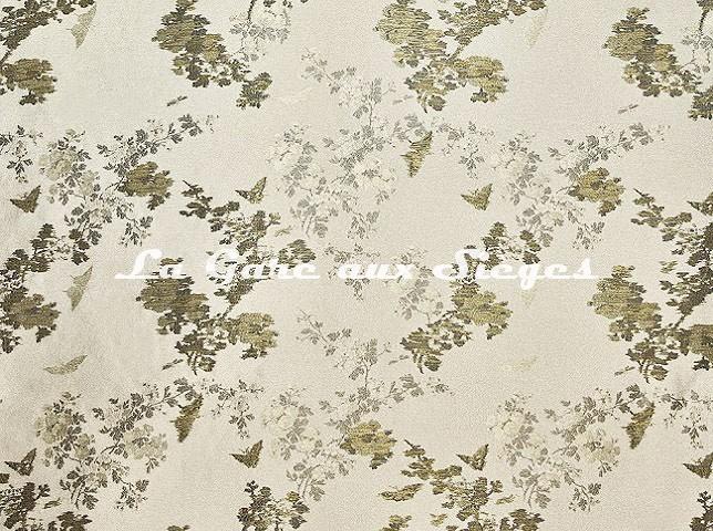 Tissu Dedar - Butterfly Revival - réf: T18042.002 Lunaire - Voir en grand