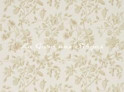 Tissu Sanderson - Magnolia & Pomegranate - réf: 225507 Parchment/Milk - Voir en grand