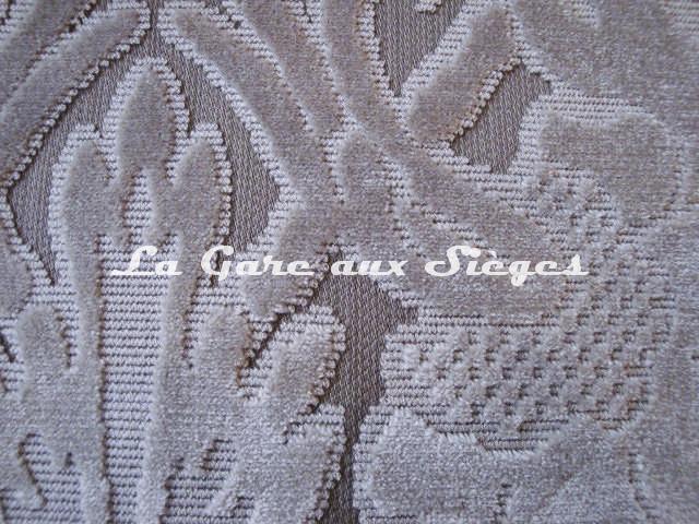 Tissu Lelièvre - Velours Chaillot - réf: 0538 - Coloris: 03 Naturel - Voir en grand