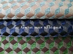 Tissu Osborne & Little - Ravenna Chenille - réf: F6140 - Coloris: 07 - 08 - 09 - Voir en grand