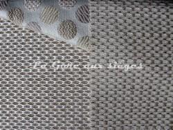 Tissu Deschemaker - Malibu - réf: 103812 Chanvre & 103811 Poivre blanc - Voir en grand
