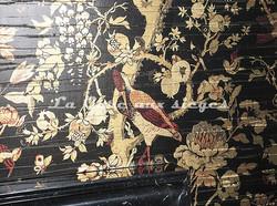 Papier peint Dedar - Silkbird gold - Voir en grand