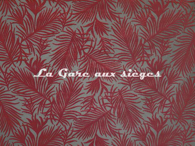 Tissu Casal - Futuna - réf: 12719.80 Grenat - Voir en grand