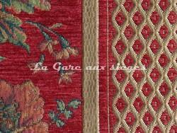 Tissu Amélie Prévot - Sourdeval - réf: 16123 - Coloris: 75 Rouge - Voir en grand