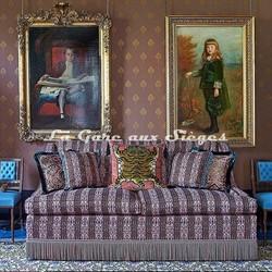 Tissu House of Hackney - Mamounia velvet - réf: 8814 - Voir en grand