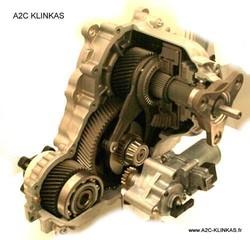 Réparation boite de transfert BMW au garage A2C KLINKAS - Voir en grand