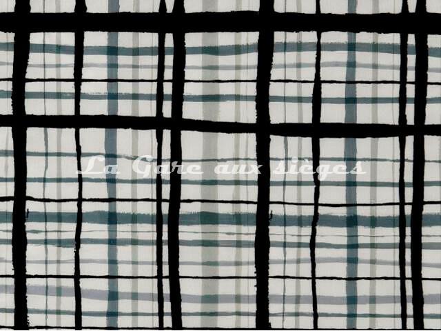 Tissu Jean Paul Gaultier - Fusain - réf: 3457-01 Graphite - Voir en grand