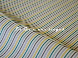 Tissu Casal - Funambule - réf: 16185.3212 Pomme Turquoise - Voir en grand