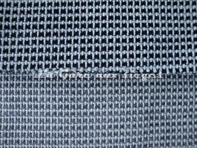 Tissu Jéro - Crafty - réf: 9269 - Coloris: 01 Réglisse & 02 Etain (supprimé) - Voir en grand