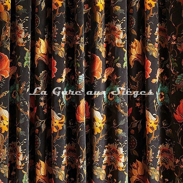 Tissu House of Hackney - Artemis lin/viscose - Voir en grand