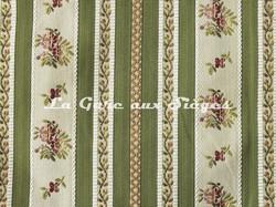 Tissu Chanée Ducrocq - Mirabeau - réf: 8414 Olive