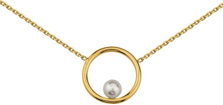 Collier plaqué or perle 7025144 59¤ - Voir en grand