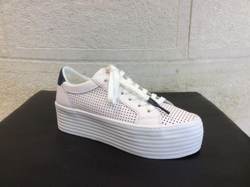 NO NAME spice sneaker white navy - Voir en grand