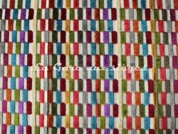 Tissu Deschemaker - Velours Cancun - réf: 103938 - Multicolore - Voir en grand