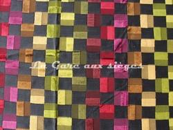 Tissu Deschemaker - Montevideo - réf: 103950 - Coloris: Réglisse - Voir en grand
