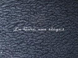 Tissu Pierre Frey - Astrakan - Réf: F2758-005 - Coloris Noir - Voir en grand