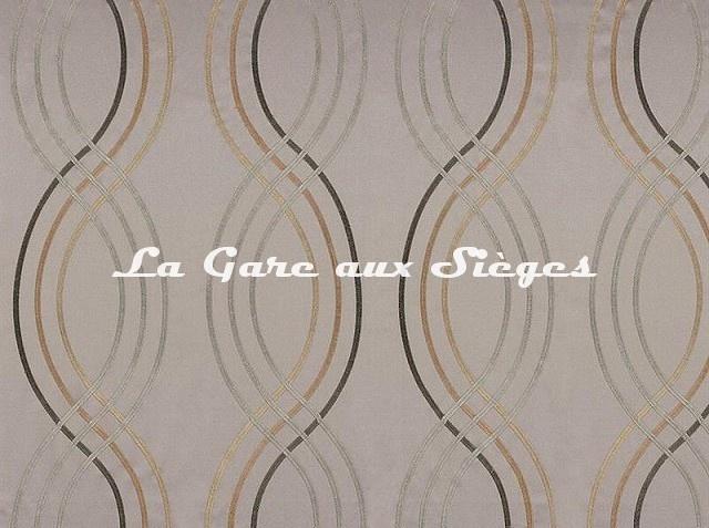 Tissu Casamance - Santara - réf: 3591.0234 Beige - Voir en grand