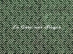 Tissu Camengo - Douves - réf: 4139.0253 Vert - Voir en grand