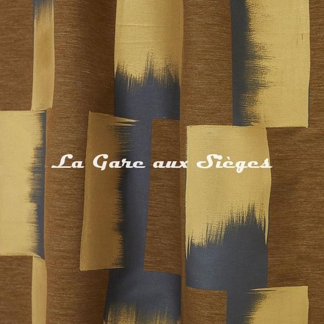 Tissu Lelièvre - Lhassa - réf: 628.04 Mordoré - Voir en grand