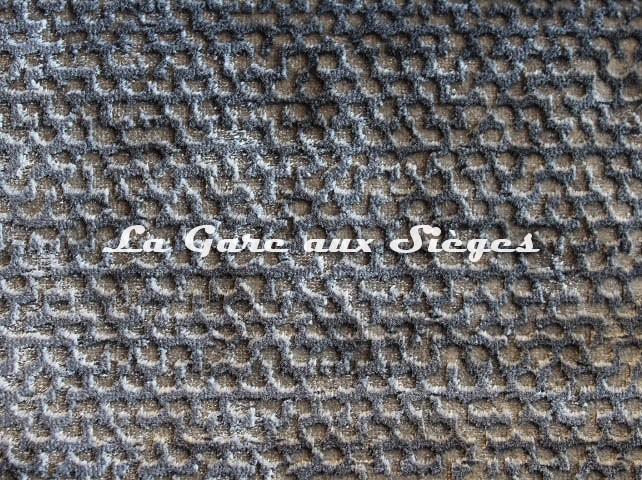 Tissu Rubelli - Velours Luchino - réf: 30259.003 Grigio - Voir en grand