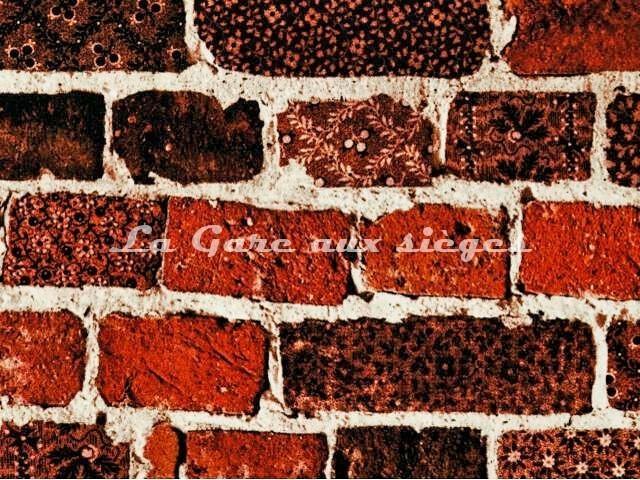 Tissu Jean Paul Gaultier - Folk - réf: 3451-03 Terre - Voir en grand
