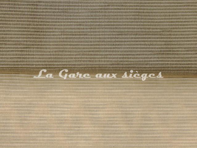 Tissu Luciano Marcato - Anima - réf: LM19524 - Coloris: 60 Argento & 72 Latte - Voir en grand
