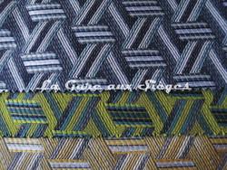 Tissu Lelièvre - Tribu - réf: 722 - Coloris: 08 Lichen - 09 Cactus (supprimé) - 10 Paille - Voir en grand