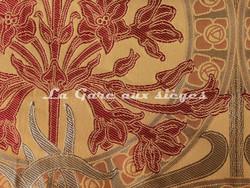 Tissu Verel de Belval - Silènes - réf: 99110-104 Automne  - Voir en grand