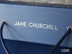 Tissus Jane Churchill - La Gare aux Sièges - Voir en grand