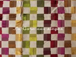 Tissu Deschemaker - Montevideo - réf: 103952 - Coloris: Burlat - Voir en grand