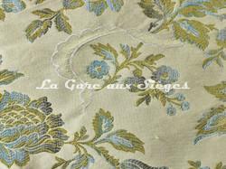Tissu Chanée Ducrocq - Marly - réf: 6075 Bleu - Voir en grand