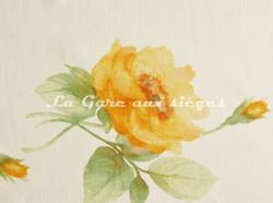 Tissu Bélinac - Pastel - réf: 1023/3936-02 Ivoire/Jaune - Voir en grand