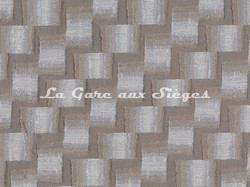 Tissu Osborne & Little - Caroussel - réf: F7054-01 Ivory/Taupe