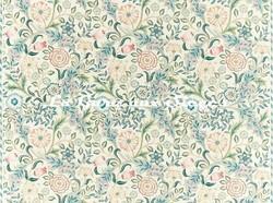 Tissu William Morris - Wilhelmina - réf: 226603 Ivory - Voir en grand