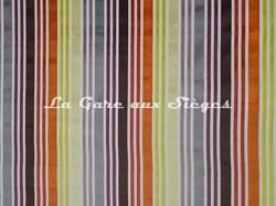 Tissu Casal - Arc en Ciel - réf: 12669 - Coloris: 75 Multirouge - Voir en grand