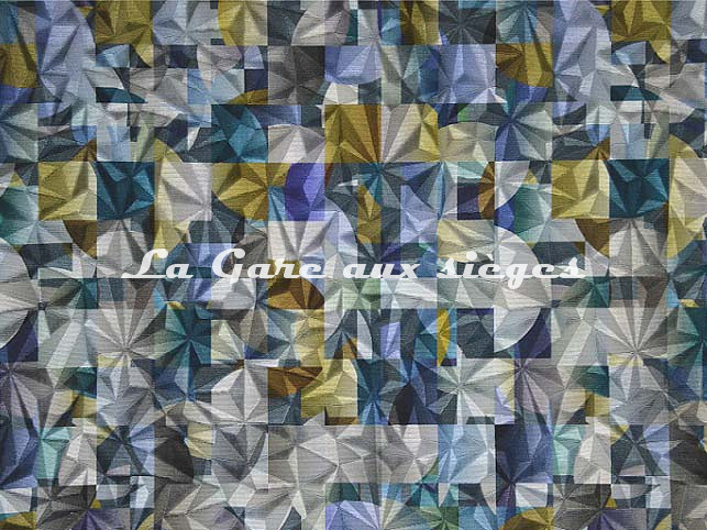 Tissu Casal - Kaleidoscope - réf: 12844.1443 Horizon Ambre - Voir en grand