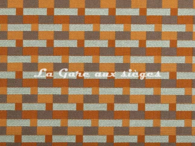 Tissu Casal - Buzz - réf: 13430.46 Mangue - Voir en grand